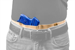 Core-Defender Belly Band Holster shown inside the waistband
