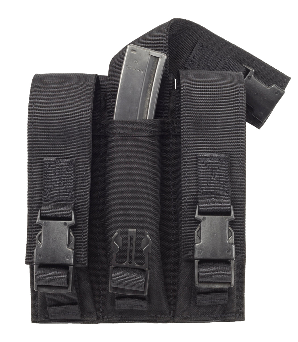 MP5 / 9mm MOLLE Stick Mag Pouch, Triple