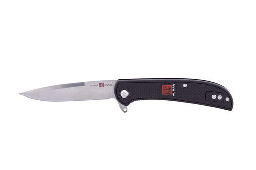 "Al Mar Ultralight 3.15"" Talon Blade, Black FRN Assisted Opener"