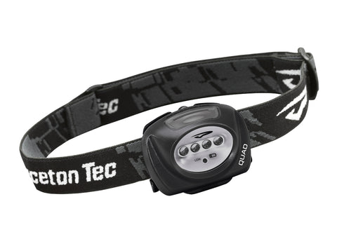 Quad LED 78 Lumen Waterproof Head Torch