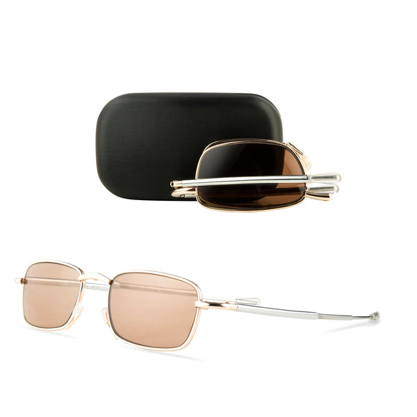 gehry | luxury folding sun-readers with travel case