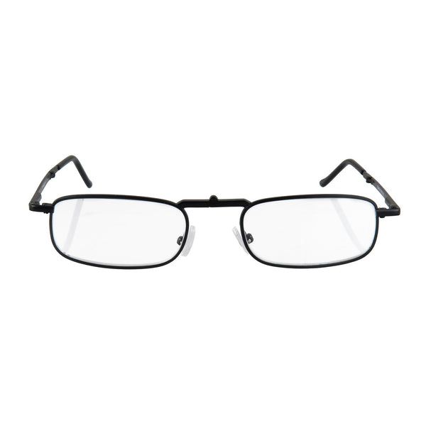 eye-sight | flat folding reading glasses with slimline black case