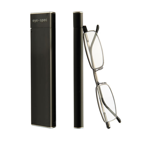 eye-slim | sleek reading glasses with compact metal case