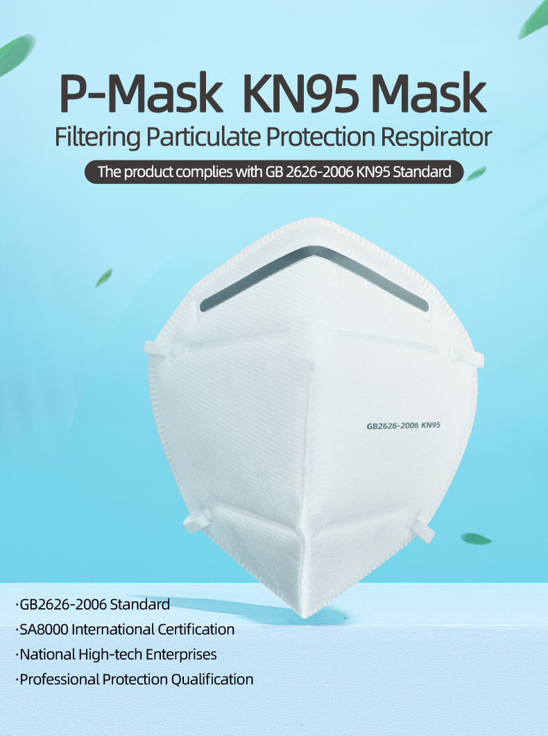 KN95 – Protective Mask (5 Pieces sealed bag)
