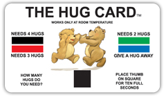 Free Hug Card <span class='tred'>(Supporting Fallen Officers Families Nationwide)</span>
