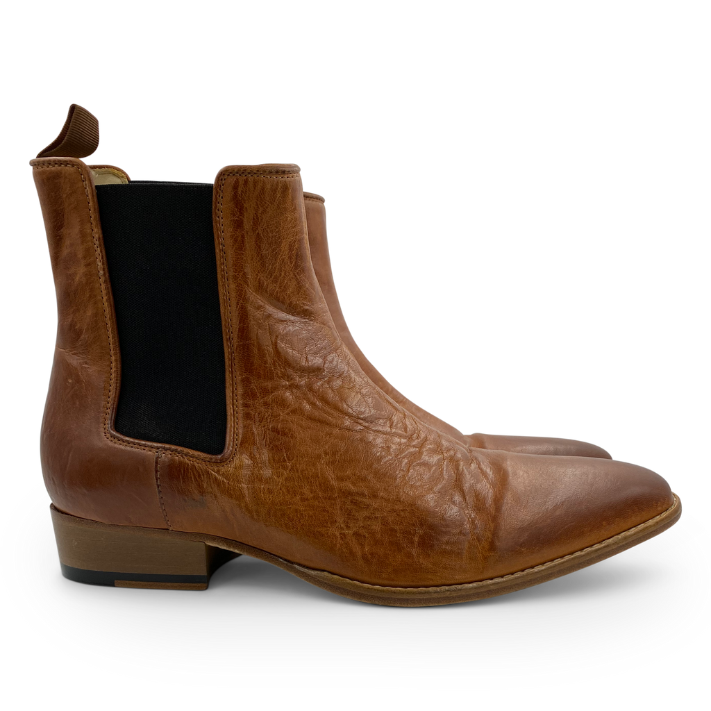 Danny Washed Boot in Camel