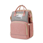 Load image into Gallery viewer, Baby Bed N Bag™ 2-in-1 Portable Bassinet and Diaper Bag Backpack