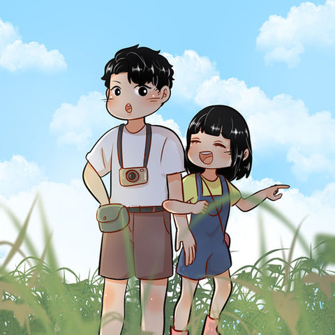 Couple Cartoon Portrait
