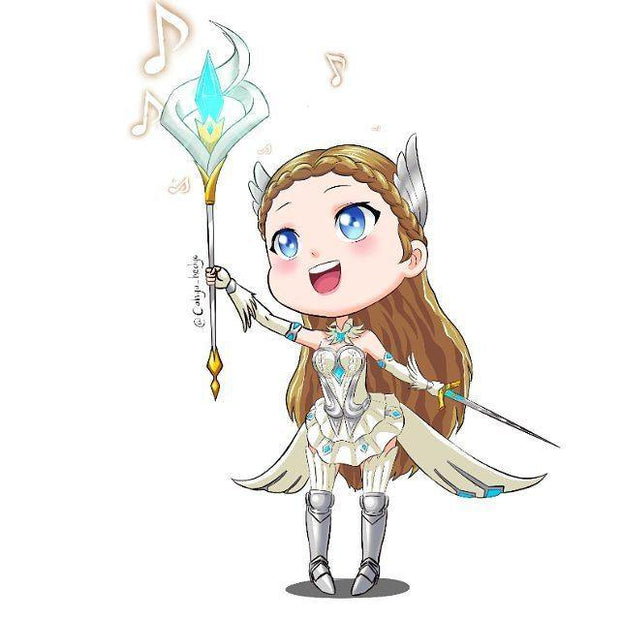 Mobile Legend Portrait Gaming Art style Customizable Art For Gift