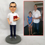 Customize Daddy bobble head figurine