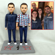 Holding Hand Bobble Head Figurine