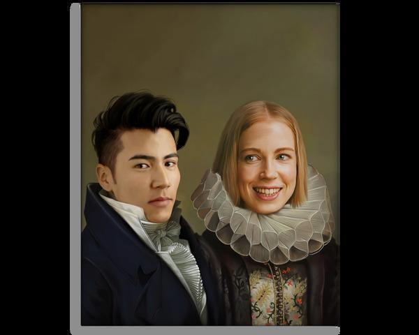 The Parents - Renaissance Couple Portrait
