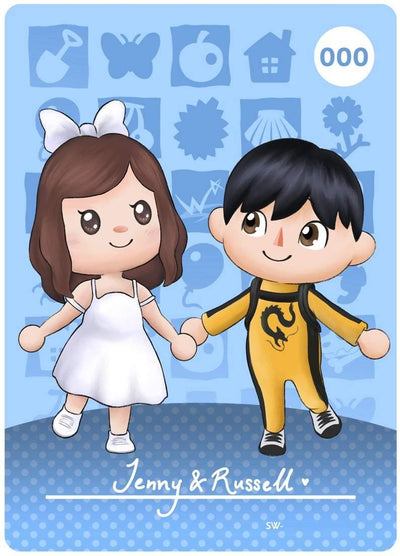 Animal Crossing New Horizon Couple Artwork, Our Artist will Hand draw your couple photo and translate it into Cute Chibi Style