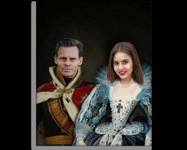 The King & Queen - Royal Couple Portrait