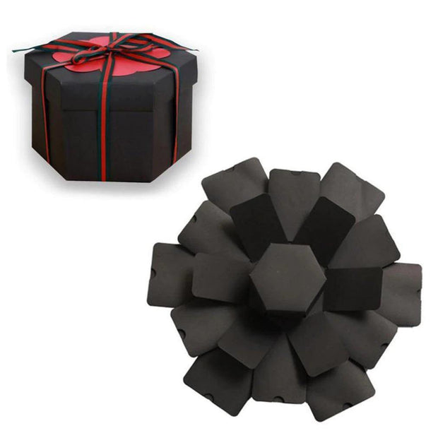 Hexagon Explosion Box