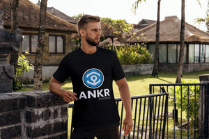 ANKR HANKR Crypto Tee Shirt T-Shirt Cryptocurrency Block Chain Gift