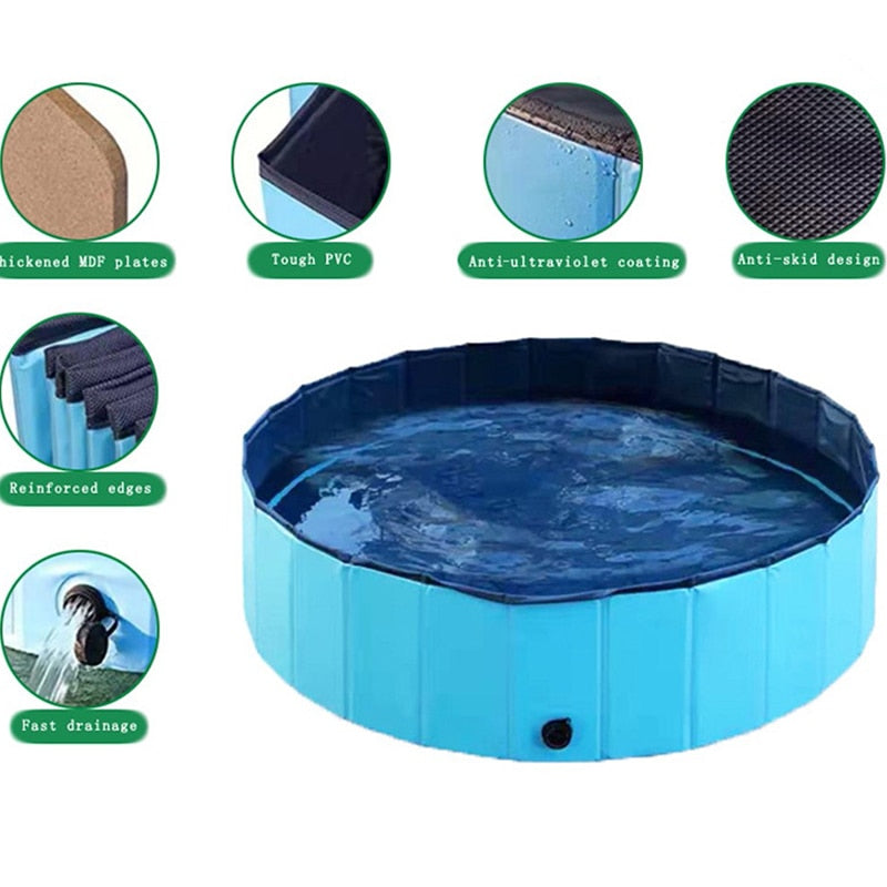Love My Doggy Luxury Collapsible Paw Pool