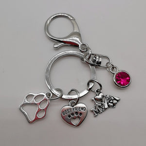 Love My Doggy Pendant Key Chain