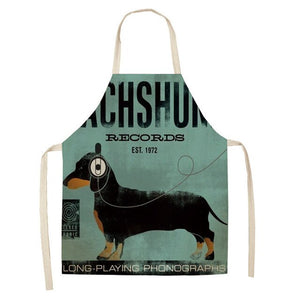 Love My Doggy Cute Dog Apron (Many Designs Available)