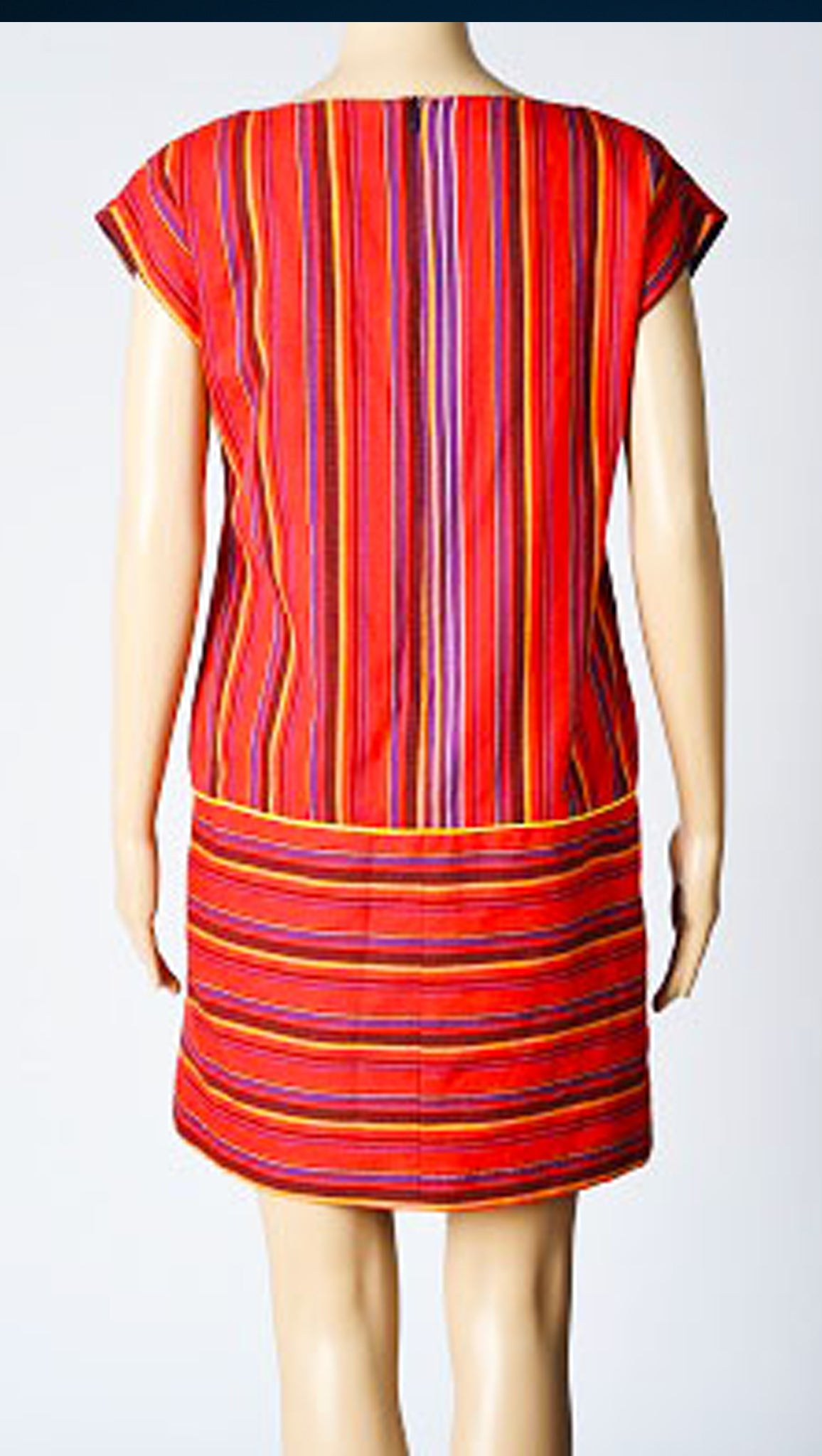 Davina Red 2.0 Shift Dress