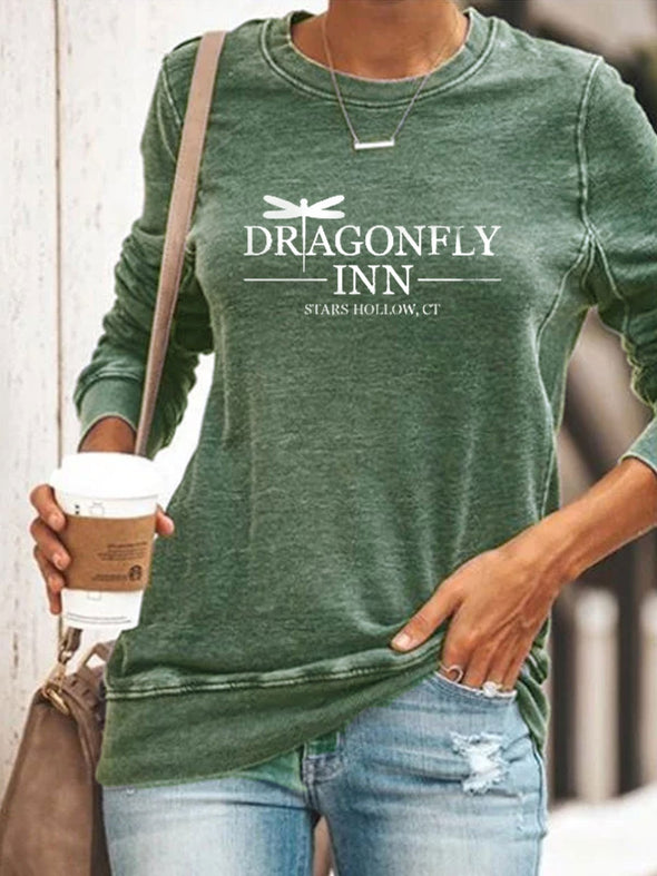 Green Dragonfly Inn Gilmore Girls TV Show Fans Pullover LC2514161-9