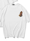 White Men's T-shirts Kobe Number Solid Round Neck Short Sleeve Casual T-shirts MC252161-1