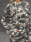 Green Camouflage Long Sleeve Hooded Sweatshirt LC2532562-9
