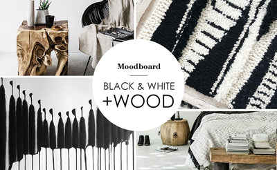 Monochrome and wood