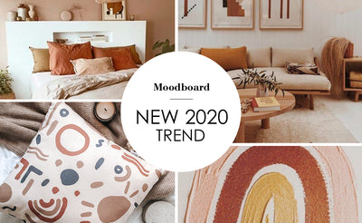 2020 trend burnt orange and brown