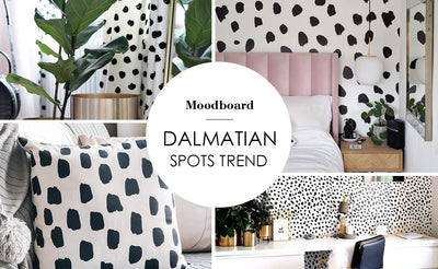 Dalmatian spots pattern in Home interior