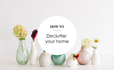 QUICK DECLUTTER TIPS TO RECLAIM YOUR HOME IN 7 DAYS