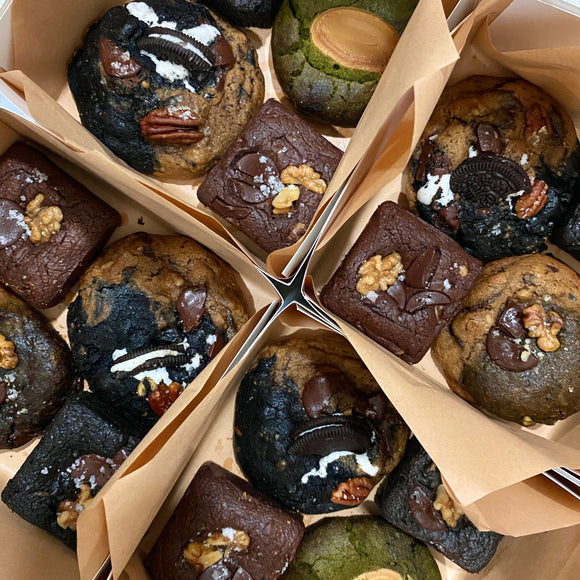 Assorted Brownie Cookie Box