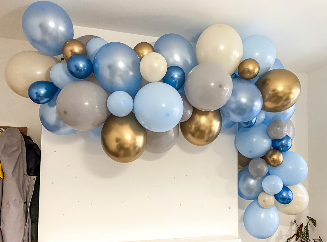 Blue Balloon Garland Kit (3m)