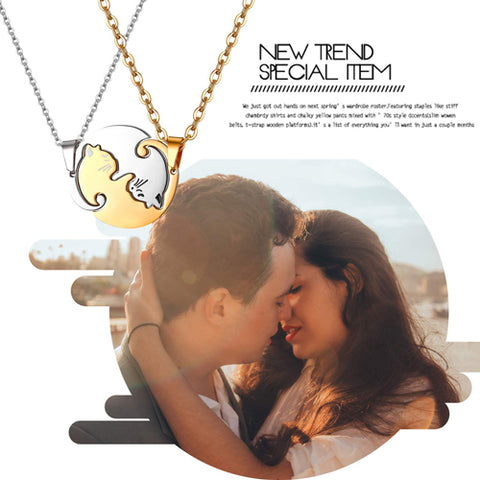 Matching Kitty Cat Pendant Necklace