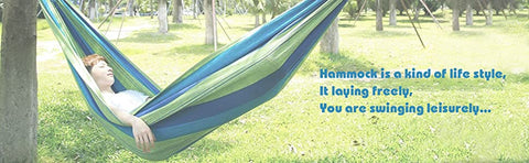 Double Wide Thick Canvas Hammock