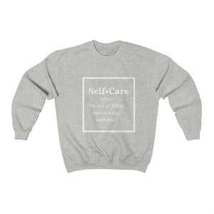 Self-Care Crewneck Sweatshirt