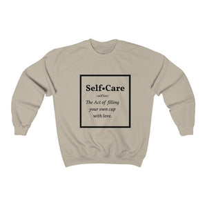 Self-Care B Crewneck Sweatshirt