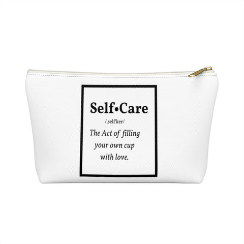 Self-Care Money Bags Pouch w T-bottom