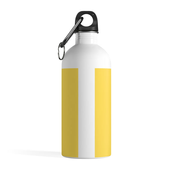 Self-Care Yellow Stainless Steel Water Bottle