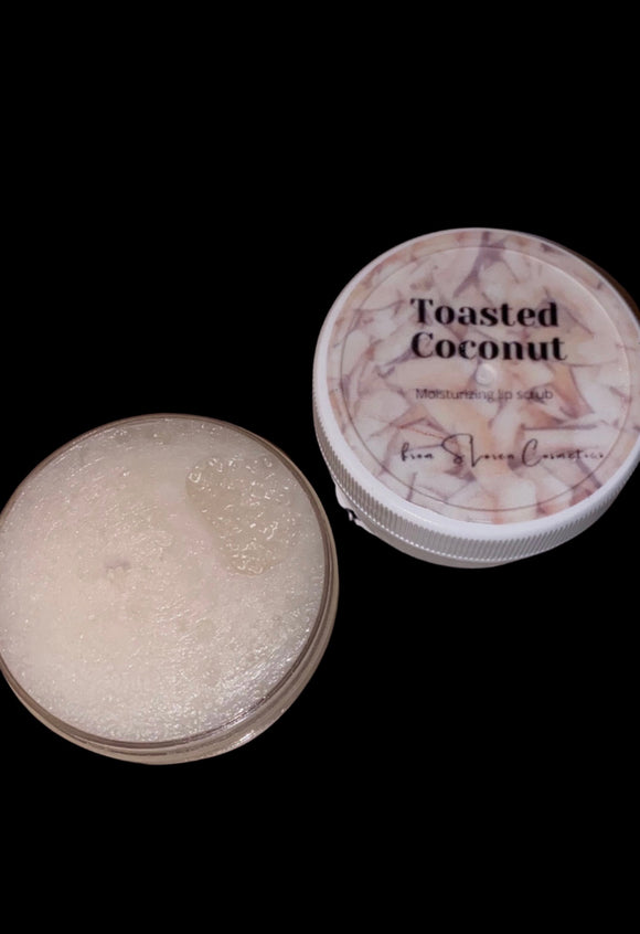 Toasted Coconut Lip Scrub