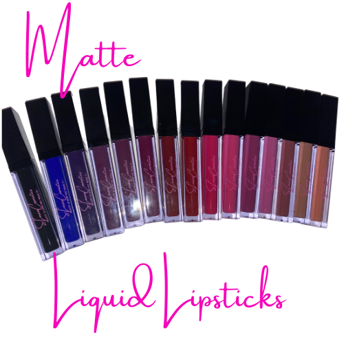 16 Color Matte Liquid Lipsticks Set