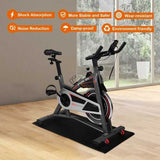 "47"" x 24"" Exercise Equipment PVC Mat Gym Bike Floor Protector"