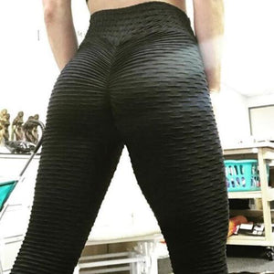 Womens Yoga Gym Anti-Cellulite Compression Leggings