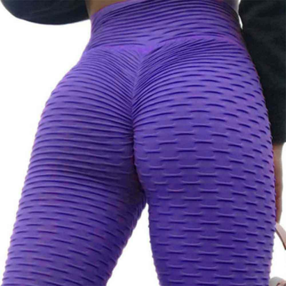 Womens Anti-Cellulite Yoga Gym Sport Leggings