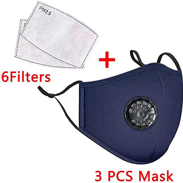 Dust proof Reusable Face Maks