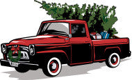 Home or Business Local Christmas Tree Delivery