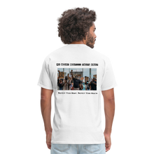 Load image into Gallery viewer, Black Hearts Matter Mens Graphic Tee - white