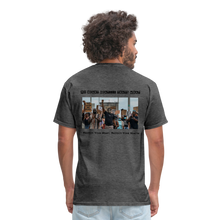 Load image into Gallery viewer, Black Hearts Matter Mens Graphic Tee - heather black