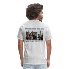 Load image into Gallery viewer, Black Hearts Matter Mens Graphic Tee - heather gray