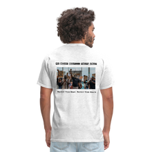 Load image into Gallery viewer, Black Hearts Matter Mens Graphic Tee - light heather gray